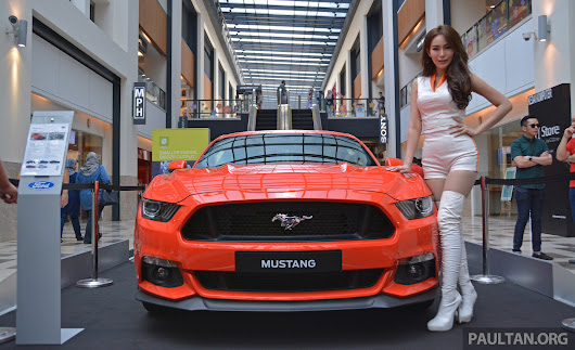 GALLERY: Ford Mustang 5.0 GT on display at Publika