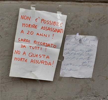 Milano, via Padova. Luogo dell'omicidio