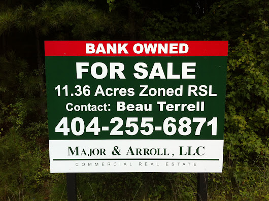 Real Estate Signs in Marietta, Kennesaw, Woodstock | Custom Real Estate Yard Signs