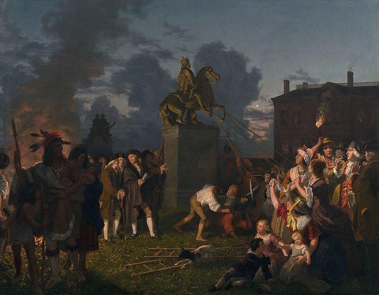 File:Johannes Adam Simon Oertel Pulling Down the Statue of King George III, N.Y.C. ca. 1859.jpg