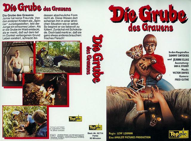 The Pit (VHS Box Art)