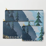 Carry All Pouch   Oregon Coast by Jenny Tiffany - Set of 3 - Society6