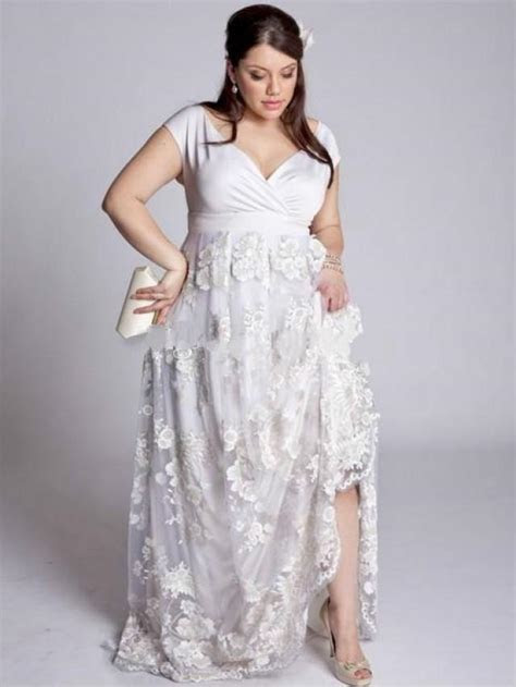 Elegant Plus Size Wedding Dresses 2016 Satin Floor Length
