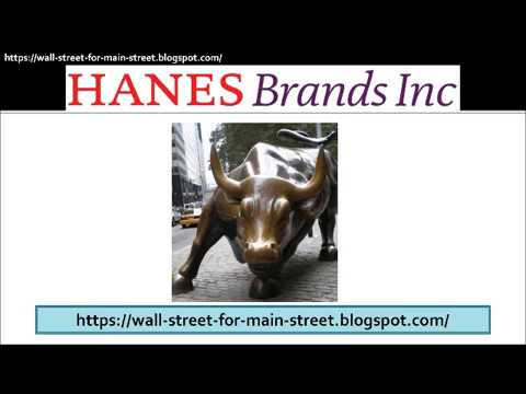 HanesBrands (NYSE: HBI) Stock Analysis with Valuation Example