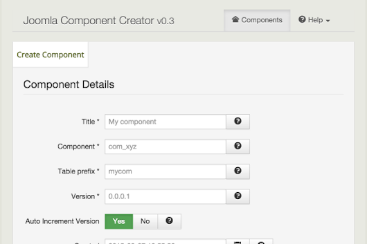 CLICK HERE to support Free Joomla Component Creator - JCC