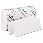 Georgia Pacific 21000 Signature Paper Towel- 9 1/4 x 9 1/2- White- 125/Pack- 16/Carton