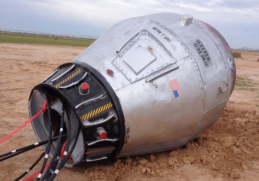 A NASA scientist needed to find out if this 'abandoned space capsule' was real