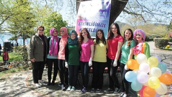 Zonguldak Haberleri öğretmen Adayları özel çocuklarla Boyama Yaptı