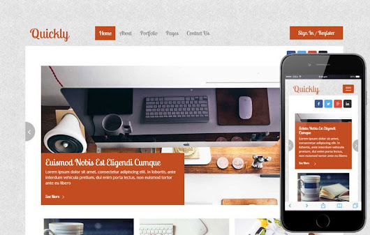 Quickly a Blogging Category Flat Bootstrap Responsive Web Template by w3layouts
