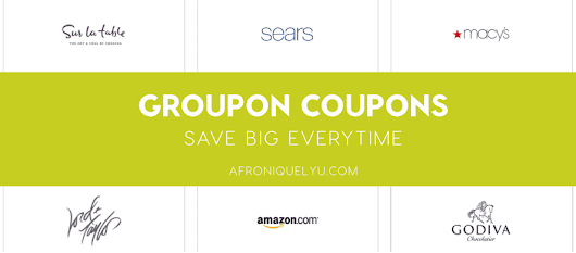 Save BIG with Groupon Coupons | Afroniquely You - Natural Hair inspiration and tips, Fashion, Beauty and Lifestyle