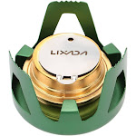 lixada copper alloy portable mini ultra-light spirit burner alcohol stove outdoor camping stove furnace