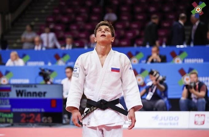 Адам Цечоев одержал убедительную победу наКубке Европы подзюдо вРумынии