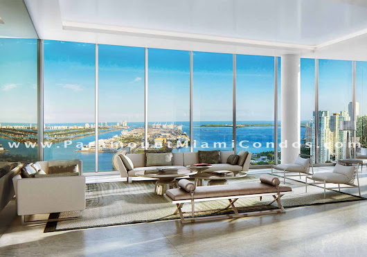 Paramount Miami Worldcenter Penthouses Now Available for Sale! - Miami Luxury Homes Blog