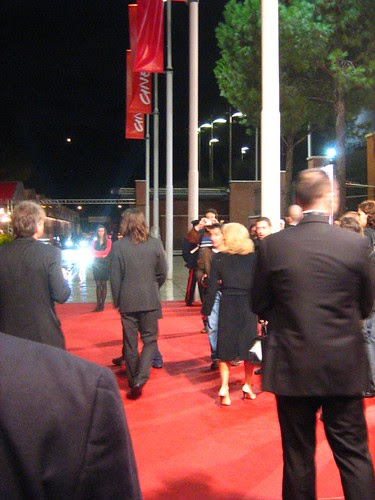 That's Colin Farrell's back