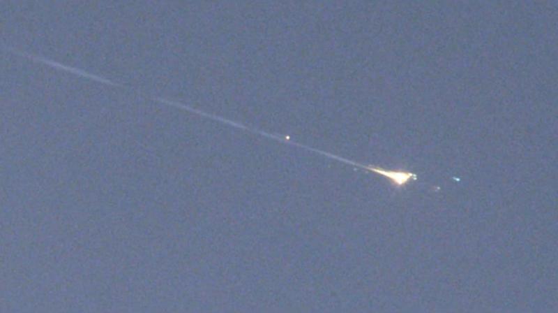El misterioso objeto espacial que iba caer en la Tierra se ha desintegrado en la atmósfera