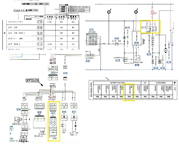 automotive electrical wiring schematic diagrams
