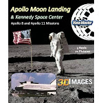 3Dstereo Viewmaster Apollo Moon Missions & Kennedy Space Center - Classic Viewmaster - 3 Reels - 21 3D Pictures