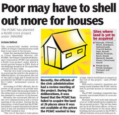 PCMC may not be able to provide houses at concessional rates
