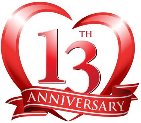 Modern & Traditional 13th Wedding Anniversary Gifts for