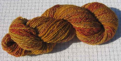 Yarn Hollow Merino Tussah fingering weight