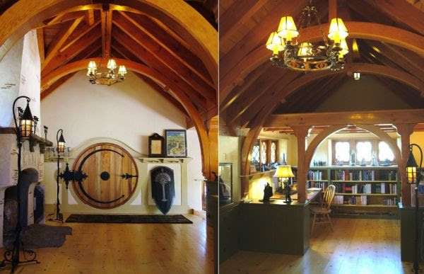 A hobbit house in Pennsylvania filled with collection pieces and ...
