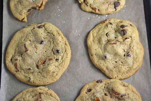 Sweet and Salty Peanut Butter Cookies
