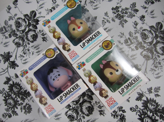 Review-Disney Tsum Tsum Lip Smackers are cute, but do they work? - et tu and you