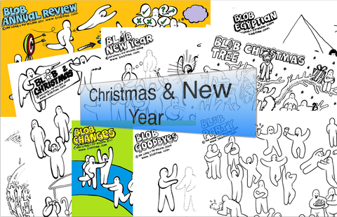 A Blob Christmas And New Year Collection