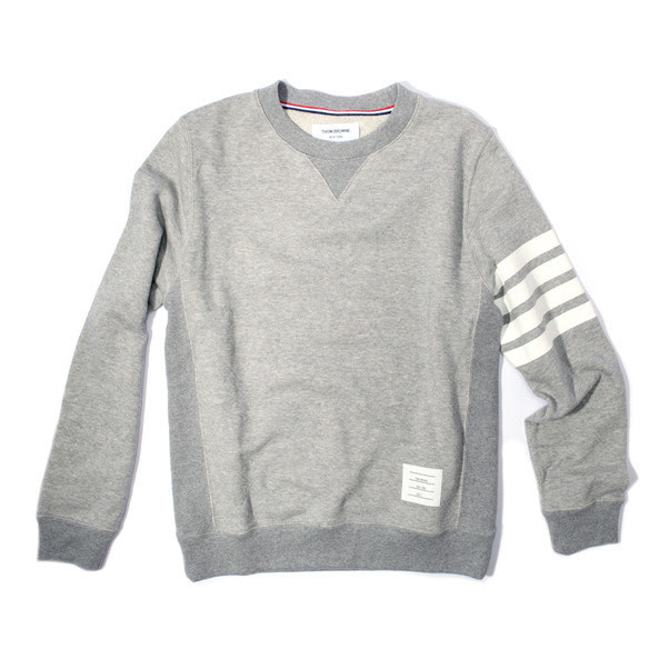318-Thom Browne Star Quilted Crew Pullover-3
