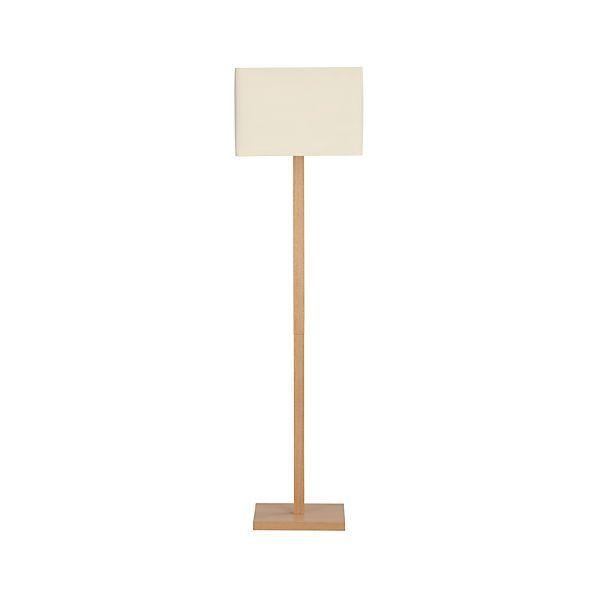 Sherwood Floor Lamp in Floor Lamps, Torchieres | Crate and Barrel