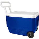 Igloo 38-Quart Wheelie Cooler - Majestic Blue/White