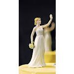 Wedding Star 9088 High Five- Bride and Groom Figurines- Bride Figurine