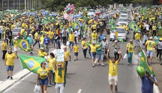 BRASIL VERDE E AMARELO: Manifestações pelo Impeachment de Dias Toffoli pode atingir Alcolumbre