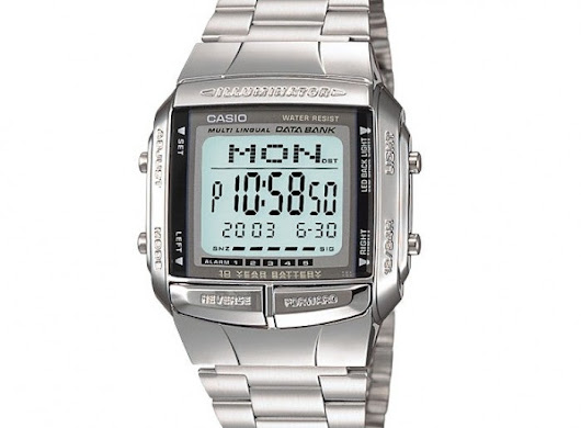 Casio Databank Watch - Top Choice for Men