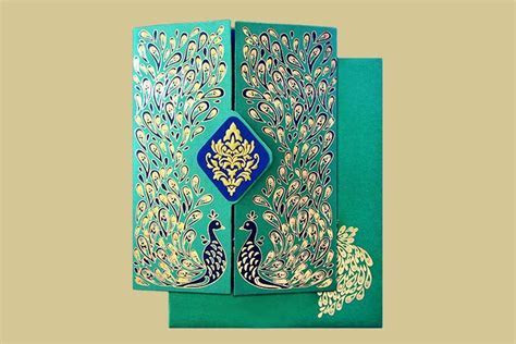 Invite In Style 12 S Ideas for Amazing Muslim Wedding Cards
