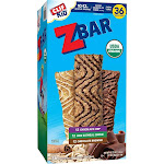 Clif Kid Organic Z Bar, Variety, 1.27 Ounce, 36 Count