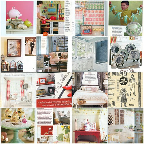 Inspiration from Magazines