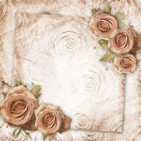 #floral #vintage #wedding, background for your Virtual