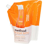 Method Dish Soap, Refill, Clementine - 36 fl oz