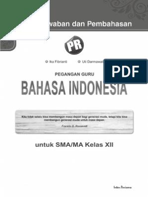 Kunci Jawaban Bahasa Indonesia Kelas 12 Halaman 35 Semester 2 Guru Ilmu Sosial