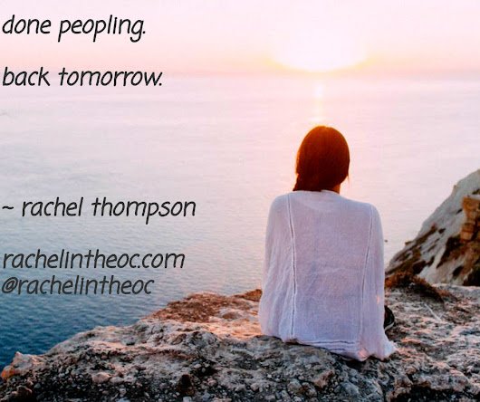This Is Why Peopling Is Hard - Rachel Thompson