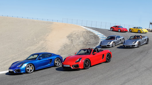 Your guide to choosing the right Boxster or Cayman