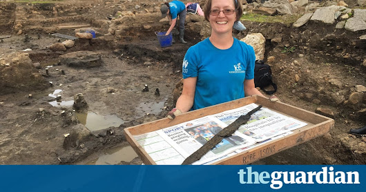 Unearthed near Hadrian's Wall: lost secrets of first Roman soldiers to fight the Picts | UK news | The Guardian