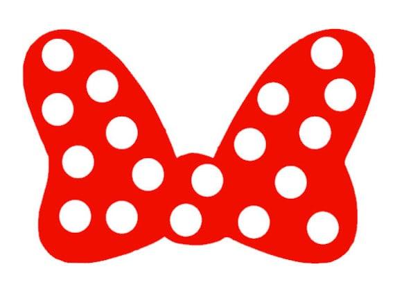 Moño De Minnie Mouse Silueta Imagui