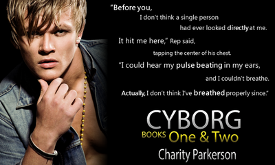 Blitz - Excerpt, Teasers & Giveaway: Cyborg by Charity Parkerson