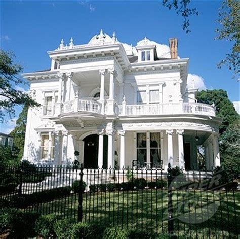 "The ""Wedding Cake House"" on St. Charles Ave. in New"
