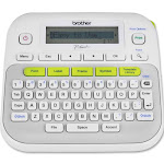 Brother P-Touch PT-D210 Monochrome Thermal Transfer Label Printer - Gray/White