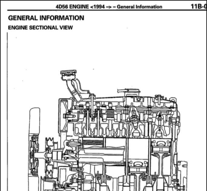 Mitsubishi 4d56 Engine Diagram
