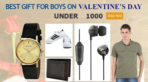 Best gift for boys on valentine's day under 1000  Are you looking a gift for your Valentine? Then, You...