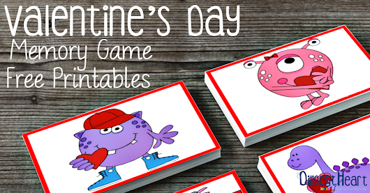Valentine's Day Themed Memory Game | A Diligent Heart